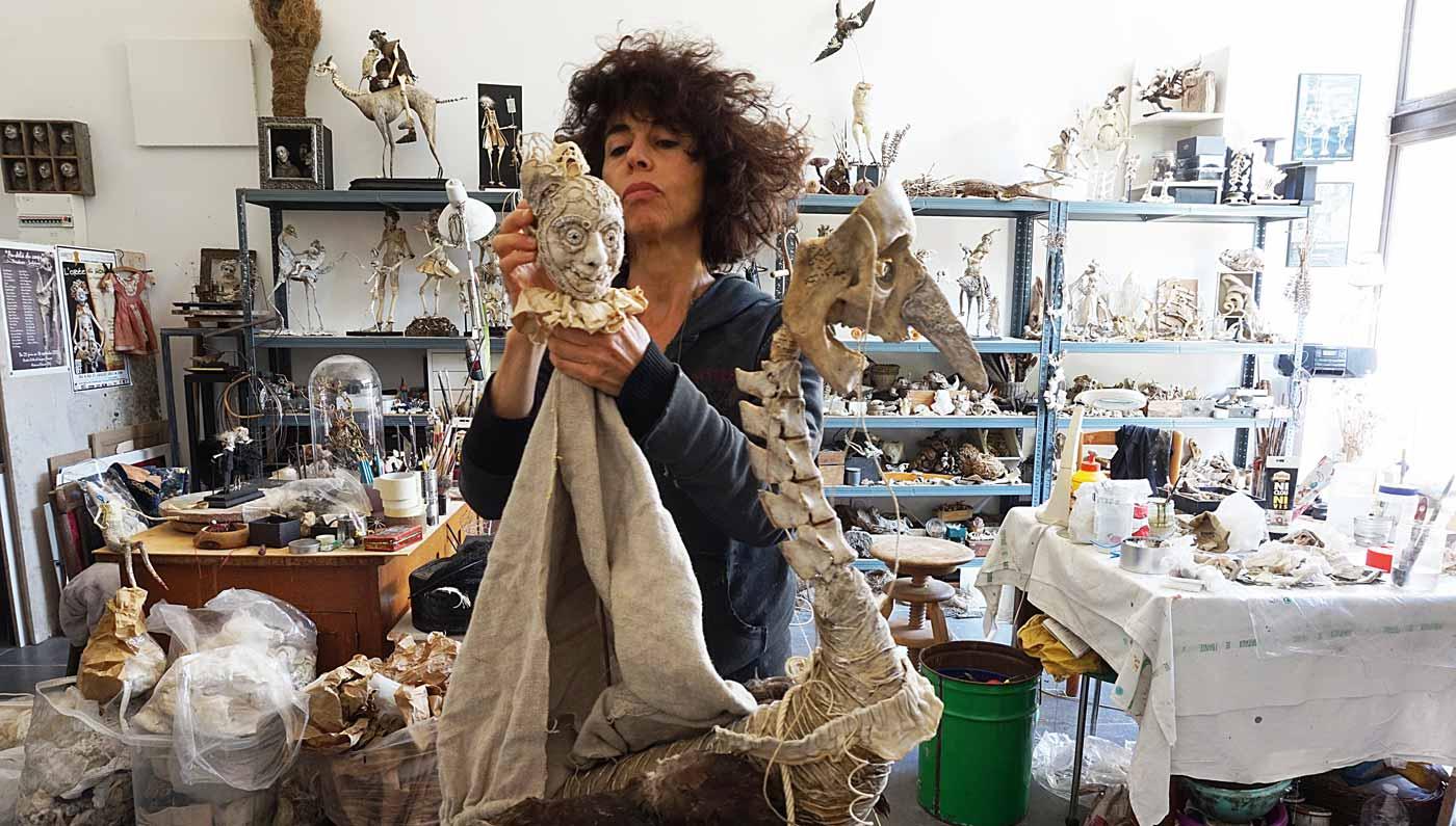 Sabrina Gruss - L'Atelier de la sculptrice à Saint Remy de Provence