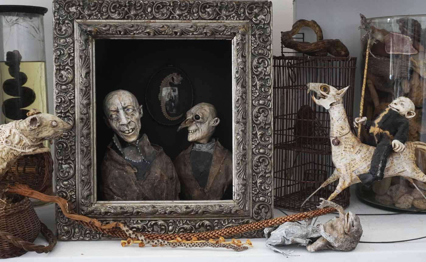 Sabrina Gruss - Sculptrice Bricologue à Saint Remy de Provence