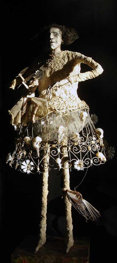 Sabrina Gruss, sculptrice à Saint Remy de Provence